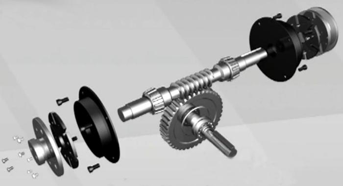 减速机附刹车离合组合的工作原理及应用范围